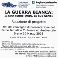 La Guerra Bianca mini CD